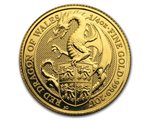 Regno Unito - Dragon Gold Coin 1/4 oz, 2017