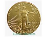 United States - Gold coin BU 1/4 oz, American Eagle, 2017