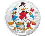France - 50 Euro Silver, Scrooge Mc Duck, 2017