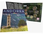 Andorra - Euro coins, Official BU set 2016