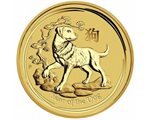 Australia - Gold coin BU 1 oz, Year of the Dog, 2018