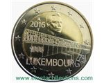Luxemburg - 2 Euro, BRIDGE CHARLOTTE, 2016 (BU in capsule)
