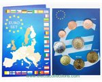 Italy - Euro coins, Complete set, 2017 (BU)