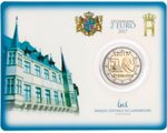 Luxemburg - 2 Euro, Volunteer army, 2017 (coin card)