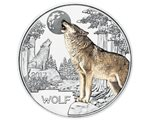 Austria – 3 Euro, Colourful creatures - Wolf, 2017