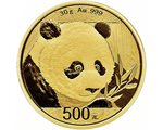 China - Gold coin BU 30g, Panda, 2018 (Sealed)