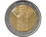 Estonia – 2 Euro, 100 years of indepedence, 2018