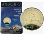 Andorra - 2 Euro, the Land of Pyrenees, 2017