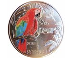 Austria – 3 Euro, Colourful creatures - Parrot, 2018