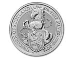Great Britain - The Unicorn of Scotland silver 2 oz, 2018