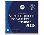 France - Euro coins, Official BU Set 2018