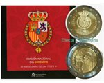 Spain – Official euro coins set BU, 2018 (ten coins)