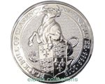 Great Britain - The Black Bull of Clarence silver 2 oz, 2018