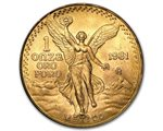 Mexique - Gold coin BU 1 oz, Libertad, 1981 (first issue)