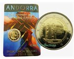 Andorra - 2 Euro, Constitution, 2018 (coin card)