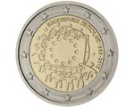 Germany – 2 Euro, European Flag, 2015