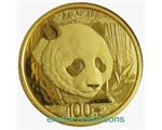 China - Gold coin BU 8g, Panda, 2018 (Sealed)