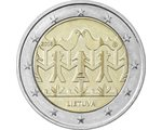 Lithuania - 2 Euro, Song and Dance Celebration, 2018