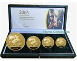 Μεγάλη Βρεταννία - Gold Proof Sovereign Four Coin Set, 2006