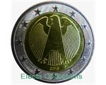 Germany – 2 Euro, the Eagle, 2016 (unc in capsule)