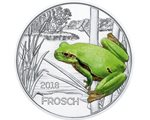 Austria – 3 Euro, Colourful creatures - the Frog, 2018