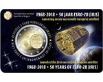Belgium – 2 Euro, Satellite ESRO-2B, 2018 (coin card NL)
