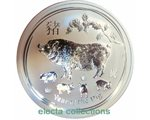 Australia - Silver coin BU 1 oz, Year of the Pig, 2019