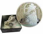 France - 10 Euro Ag proof, THE KISS (Rodin sculpture), 2018