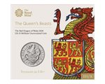 Great Britain - 5 pounds, Dragon of Wales, 2018 (BU in blister)