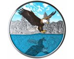 Canada - Silver coin BU 1 oz, Bald Eagle, 2019