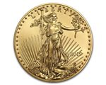 United States - Gold coin BU 1/4 oz, American Eagle, 2019