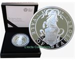 Great Britain - The Yale of Beaufort 1 oz silver Proof, 2019