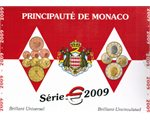 Monaco - Euro coins, Official BU Set 2009