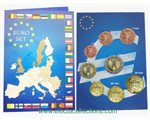 Allemagne - Monnaies Euro, serie complete 2002
