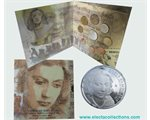 Greece - Official BU Coin Set 2010 + 10 Euro Sofia Vembo