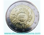 Netherlands – 2 Euro, 10 Years of EURO cash, 2012