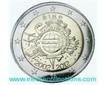 Ireland – 2 Euro, 10 Years of EURO cash, 2012