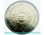 Portugal – 2 Euro, 10 Years of EURO cash, 2012
