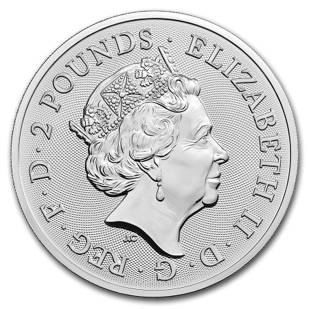 Great Britain - The Royal Arms Silver Coin BU 1 oz, 2019