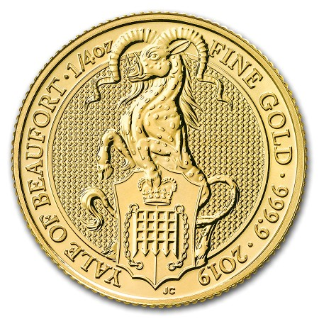 Royaume Uni - Gold Coin 1/4 oz, Yale of Beaufort, 2019