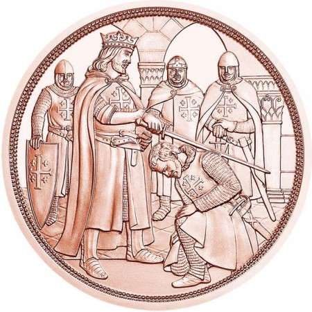 Austria - 10 Euro, Knights' ADVENTURE, 2019 (copper)