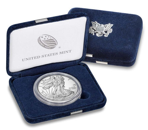 Stati Uniti - Silver coin 1 Dollar, U.S.  Eagle, 2018 (proof)