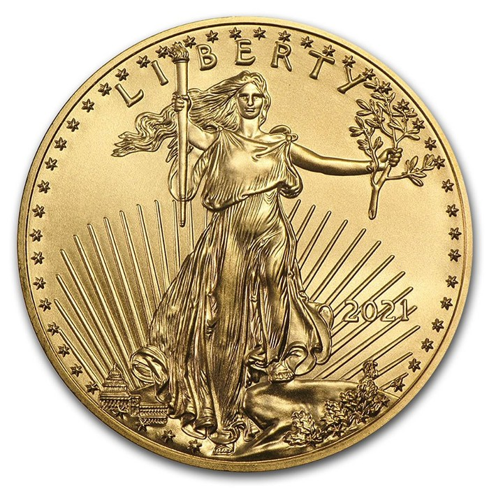 Estados Unidos - Moneda de oro 1 oz, American Eagle, 2021