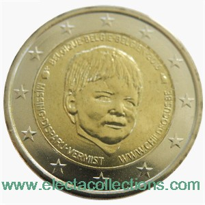 Belgique - 2 Euro CHILD FOCUS 2016 (coin card)