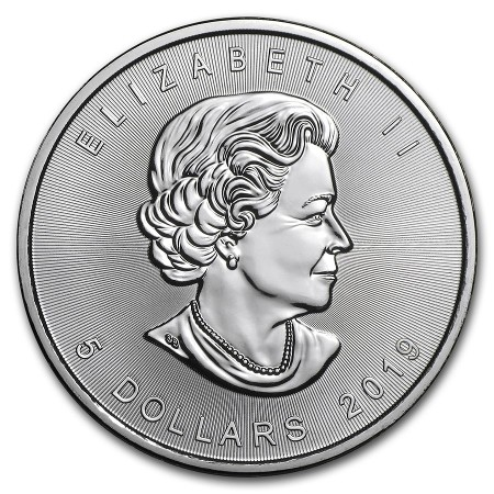 Canada - Silver coin BU 1 oz, Maple Leaf, 2019