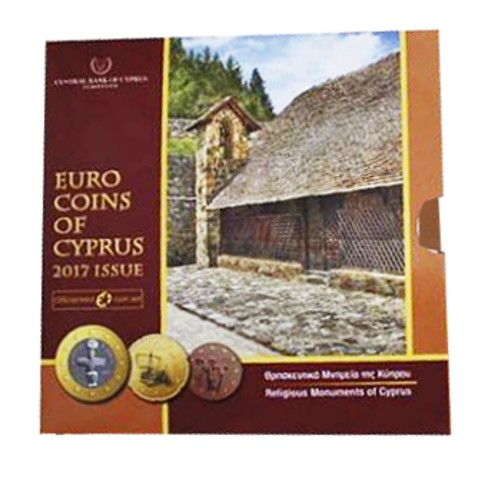 Cyprus - Euro coins Official BU Set 2017