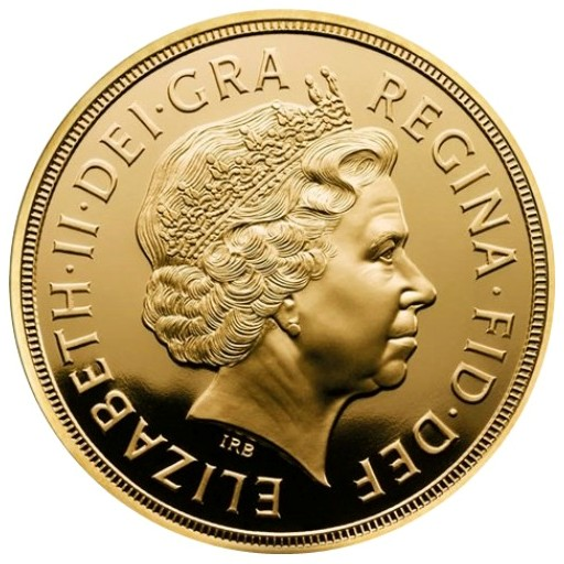 Great Britain - 25 X Elizabeth II, Gold Sovereign BU, 2012