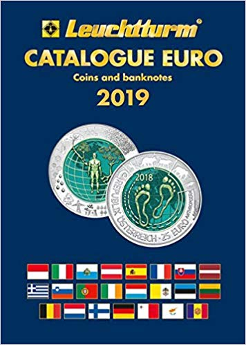Euro coins catalogue, English edition 2019