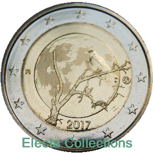 Finland – 2 Euro, Finnish nature, 2017 (proof)