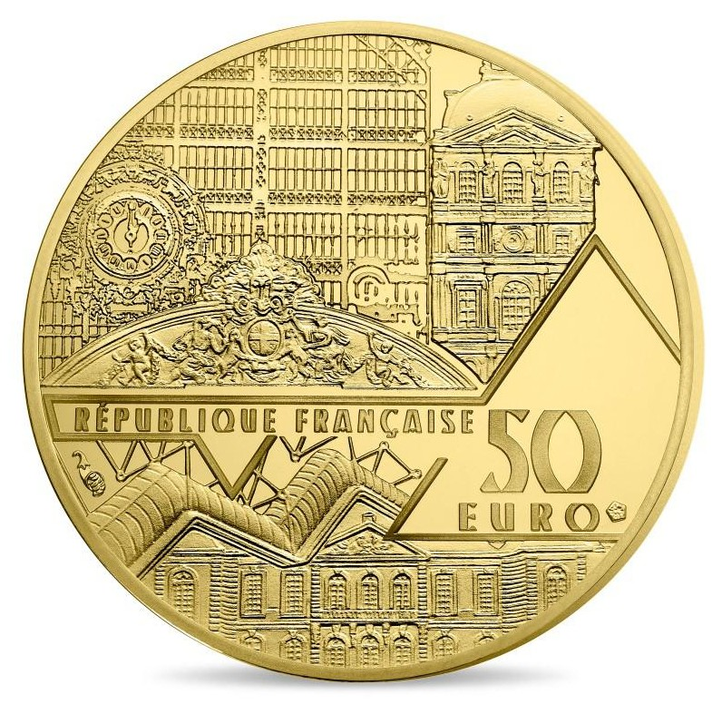 France - 50 Euro d'or BE, VICTOIRE DE SAMOTHRACE, 2019